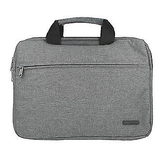Laptop Bag opptil 15,5 & quot; Tekstil Mote Lys-Grå