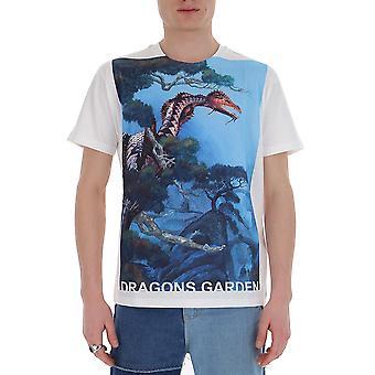 Valentino Tv0mg06p69h87m Männer's Multicolor Baumwolle T-shirt