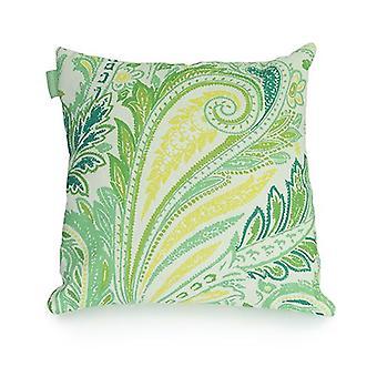 Gardenista Decorative Garden Cushion Cover 45x45 cm | Waterdichte buitenkussenhoezen | Zacht water - Resistente stof voor duurzaamheid | Toucan collectie | Toucan Design for Gardens (Paisley Sea)
