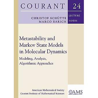 Metastability and Markov State Models in Molecular Dynamics - Modeling