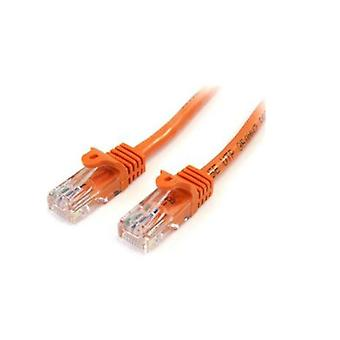 Startech 2M Orange Snagless Utp Cat5E Patch Cable