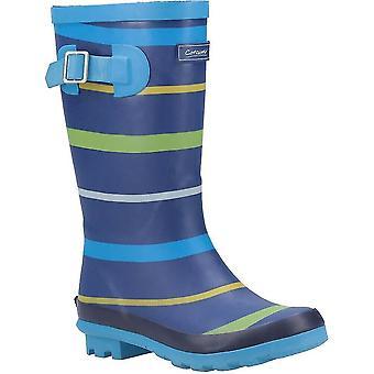 Cotswold Boys Stripe Wellington Boot