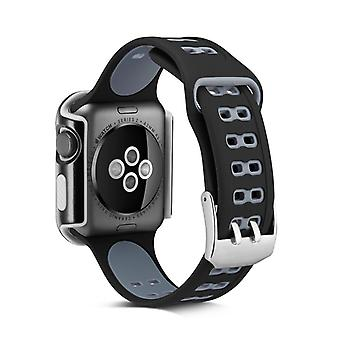 Apple Watch Case med armband 42 mm - silikon