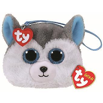TY Beanie Boo Wristlet - Slush the Husky