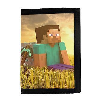 Minecraft Steve Wallet