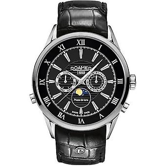 Roamer mens watch superior to Moonphase 508821 41 53 05