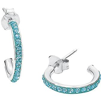 Amor Child 925 Turquoise Silver Crystal ENDEARRING