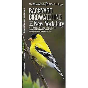 Backyard Birdwatching in New York City: An Introduction to Birding and� Common Backyard Birds of the New York Metro Area (All about Birds Pocket Guide)