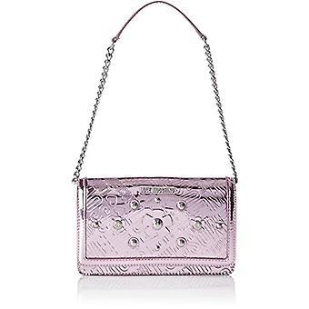 Love Moschino Bag Embossed Tpu Pink - Women's Shoulder Bags (Pink) 5x13x22cm (B x H T)