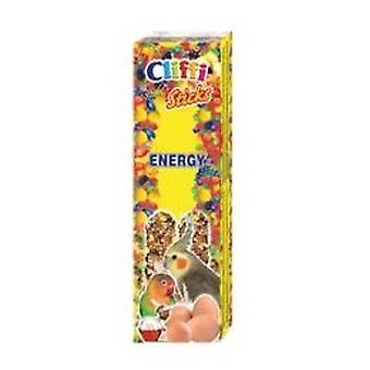 Cliffi Bars Large Parrot egg / honey 2Pz/150Grs Cliffi (Birds , Bird Treats)