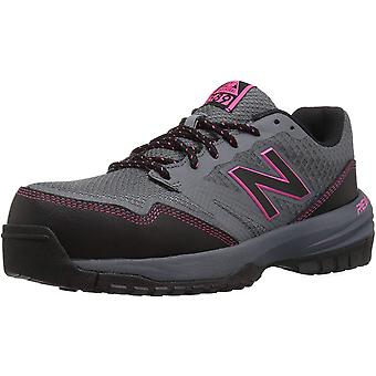 New Balance Mulheres WID589 Low Top Lace Up Walking Shoes