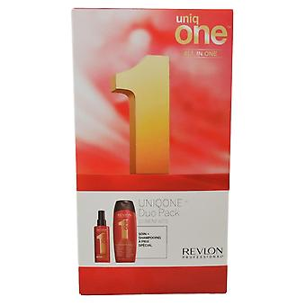 Revlon Uniq One Haarmaske Spray 150ml Classic Shampoo Conditioner 300ml Classic