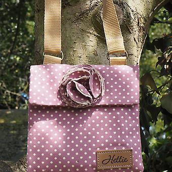 Imogen Children's handbag lavender spot
