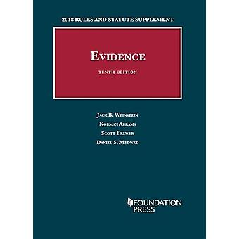 Evidence - 2018 Rules and Statute Supplement by Jack Weinstein - 9781
