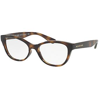 Michael Kors Salamanca MK4051 3316 Dark Tortoise-Brown Crystal Glasses