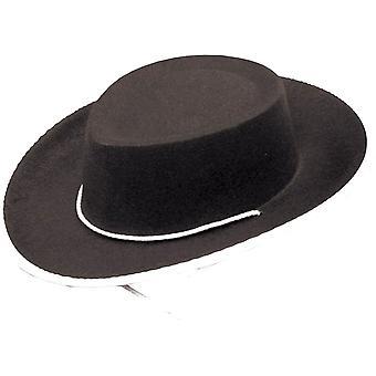Cowboy hoed zwart voor kinderen