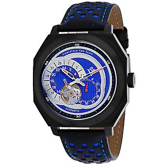 Christian Van Sant Uomo's Machina Blue Dial Watch - CV0563