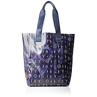 Oilily Lori Shopper Lvo - Donna Blau Bucket Bags (Dark Blue) 18x39x30.5 cm (B x H T)
