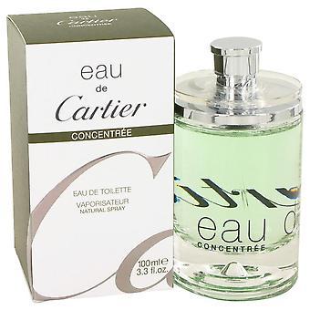 Eau De Cartier Eau De Toilette Spray Concentree (Unisex) By Cartier 3.4 oz Eau De Toilette Spray Concentree