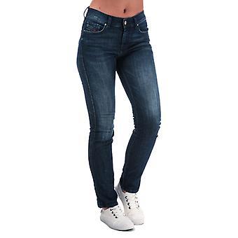 Women's Diesel Sandy Straight Jeans in Blue