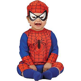 زي الرجل العنكبوت الرضع خارقة