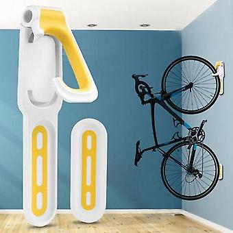 Bike Wall Hook Holder Stand - Practical Mountain Bicycle Wall Mounted Storage Rack Hanger - Outdoor Cycling Supplies - Skidproof And Scrape-proof