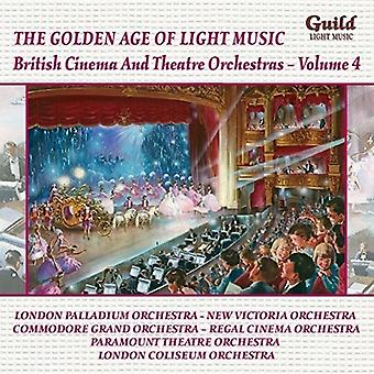 British Cinema & Theatre Orchestras 4 [CD] USA import