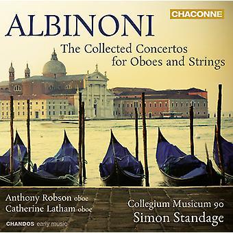 T. Albinoni - Albinoni: Recueillies les Concertos pour hautbois et cordes [CD] USA import