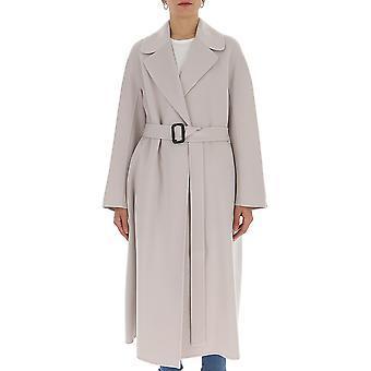 'S Max Mara 90110701600700063 Femmes-apos;s Manteau de laine grise