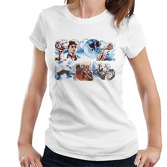 E.T. The Extra-Terrestrial Montage Women's T-Shirt