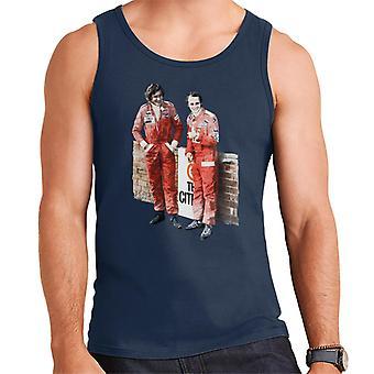 Motorsport Images James Hunt & Niki Lauda South African GP 1976 Men's Vest