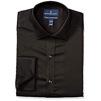 Abotoado men's cost francês cuff micro twill Non-Iron Dress Shirt...