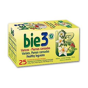 Bie 3 Suonikohjut Tea 25 infuusiopussit