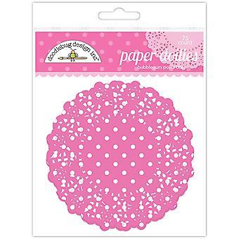 Doodlebug Design Bubblegum Polka Dot Doilies (75pcs) (4464)