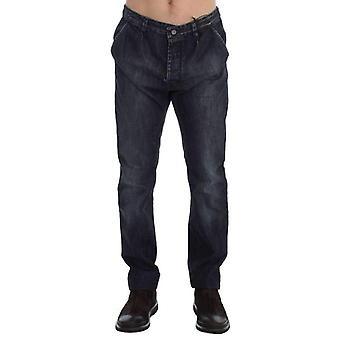 Blue Wash Regular Fit Cotton Jeans