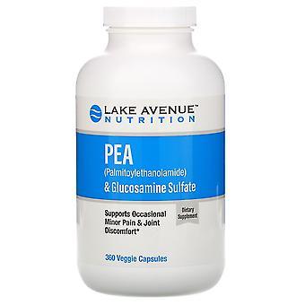 Lake Avenue Nutrition, PEA (Palmitoylethanolamide) + Glucosamine Sulfate, 600 mg