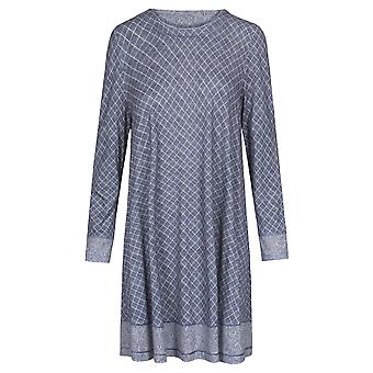 Rösch Pure 1203560-16544 Women's Tweed Check Nightdress