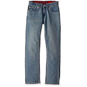 Levi's Boys' Little Slim Fit Elastic Waistband Jeans, Found, 5