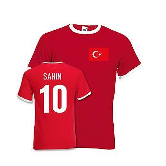 Nuri Sahin Turquía Ringer Tee (rojo)
