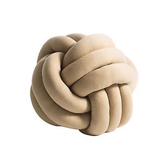 YANGFAN Profusion Circle Creative Knotted Ball Throw Pillow