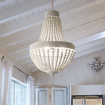 Ideal Lux Monet - 6 Licht Anhänger Licht weiß