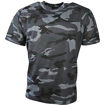 Kombat UK Kombat Camo T-shirt (middernacht)