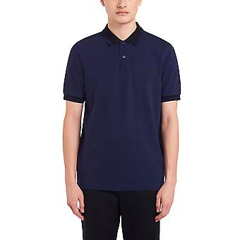 Fred Perry Hombres's Contrast Rib Polo Camisa Ajuste Regular
