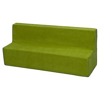 Kindersofa meubel schuim groen