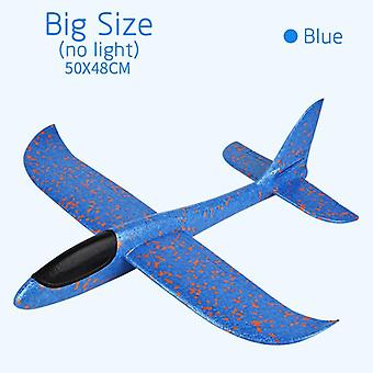 Hand Throw Airplane Epp Foam Launch Fly Glider Planes Model Aircraft Outdoor