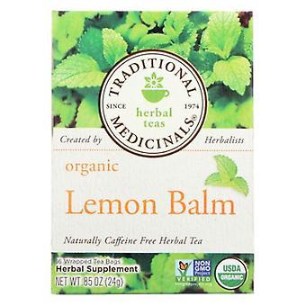 Traditional Medicinals Teas Organic Lemon Balm Tea, 16 Bags