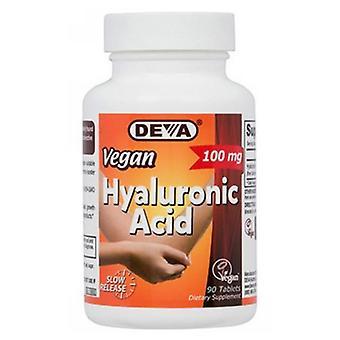 Deva Vegan Vitamins Vegan Hyaluronic Acid, 100 Mg, 90 Tab
