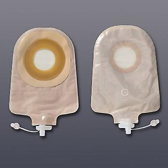 Hollister Urostomy Pouch Premier One-Piece System 9 Polegada comprimento 1-1/2 Polegada Stoma Drenável, Transparente 10 Contagem