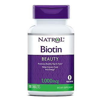 Natrol Biotin 1000 Mcg, 100 Tabs
