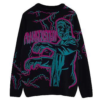 Universal Monsters Frankenstein Men's Knitted Jumper Merce ufficiale